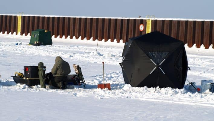 Best Ice Fishing Lakes In Michigan