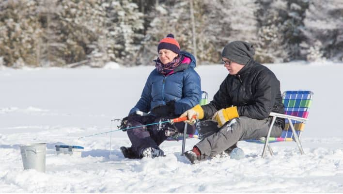 Top 20 Ice Fishing Lakes in the USA