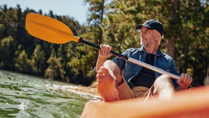 Lightweight kayaks for Seniors